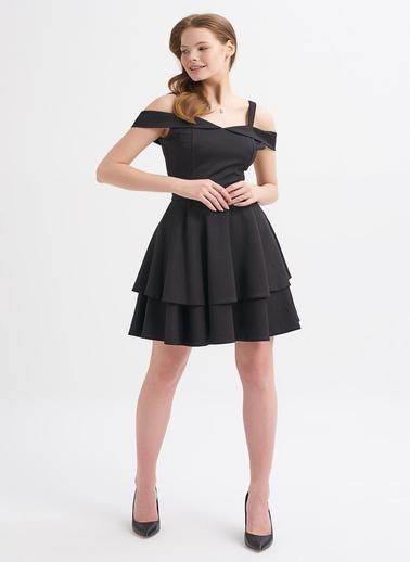Quzu Elbise Siyah